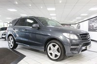 USED 2014 14 MERCEDES-BENZ M CLASS 3.0 ML350 AMG SPORT AUTO BLUETEC 258 BHP 1 OWNER PAN ROOF COM NAV 20'S