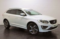 USED 2015 15 VOLVO XC60 2.0 D4 R-DESIGN NAV 5d AUTO 178 BHP 1 OWNER + FULL SERVICE HISTORY