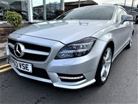 2013 MERCEDES-BENZ CLS CLASS 3.0 CLS350 CDI BLUEEFFICIENCY AMG SPORT 5d AUTO 262 BHP £16995.00