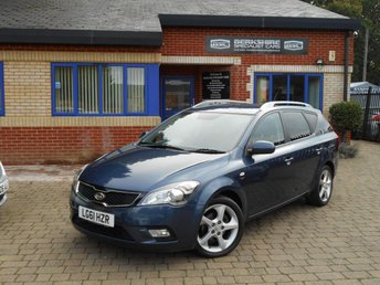 2011 KIA CEED 1.6 CRDI 3 SW 5d AUTO 114 BHP £4000.00