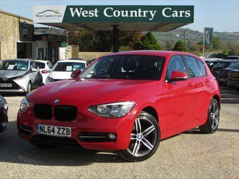 2014 BMW 1 SERIES 2.0 116D SPORT 5d 114 BHP £12500.00