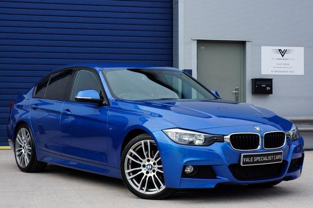 2013 63 BMW 3 SERIES 2.0 320D M SPORT 4d  (SAT NAV)