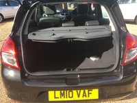 USED 2010 10 RENAULT CLIO 1.6 INITIALE TOMTOM VVT 5d AUTO 110 BHP FULL SERVICE HISTORY - FINANCE AVAILABLE