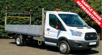 USED 2015 65 FORD TRANSIT 350 2.2 125 BHP DROPSIDE 14.5 FT **70 VANS IN STOCK**