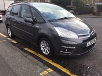 USED 2012 62 CITROEN C4 GRAND PICASSO 1.6 EDITION HDI 5d 110 BHP OUR  PRICE INCLUDES A 6 MONTH AA WARRANTY DEALER CARE EXTENDED GUARANTEE, 1 YEARS MOT AND A OIL & FILTERS SERVICE. 6 MONTHS FREE BREAKDOWN COVER.