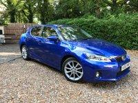 2012 LEXUS CT 1.8 200H SE-L 5d AUTO 136 BHP £11789.00