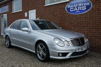 2007 MERCEDES-BENZ E 63 AMG 6.2 AMG  7G-Tronic 4dr £12900.00