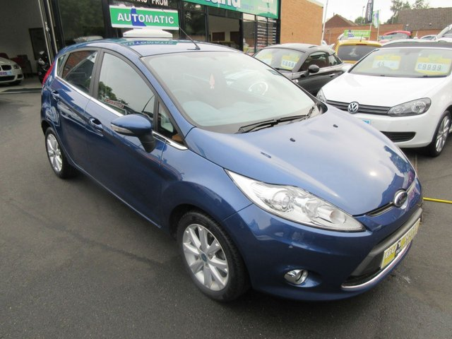 USED 2009 59 FORD FIESTA 1.4 ZETEC 16V 5d AUTO 96 BHP **FULL SERVICE HISTORY..JUST ARRIVED..BUY NOW PAY LATER..