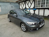2015 BMW 1 SERIES 1.5 116D ED PLUS 5d 114 BHP £12481.00