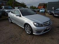 2012 MERCEDES-BENZ C CLASS 2.1 C220 CDI BLUEEFFICIENCY AMG SPORT 2d AUTO 170 BHP £12490.00