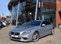 2014 BMW 6 SERIES 3.0 640D M SPORT GRAN COUPE 4d AUTO 309 BHP £22995.00