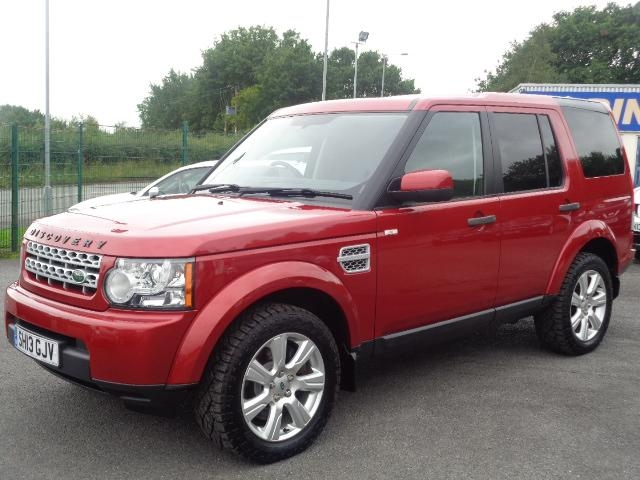 View our 2013 13 LAND ROVER DISCOVERY 4 3.0 SD V6 Panel Van 4X4 5dr