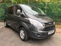 2016 FORD TRANSIT CUSTOM 2.0 290 LIMITED LR DCB 1d 129 BHP £13995.00