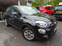 USED 2015 65 FIAT 500X 1.4 MULTIAIR POP STAR 5d 140 BHP Very Low Mileage! One Lady Owner from new, Serviced by ourselves, MOT until September 2019, 6 Speed Gearbox