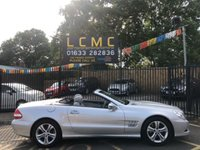 "USED 2009 09 MERCEDES-BENZ SL 350 SL350 STUNNING STERLING SILVER WITH LUXURY GREY LEATHER UPHOLSTERY. VERY LOW MILEAGE. FULL SERVICE HISTORY. SATELLITE NAVIGATION. ELECTRIC ROOF. ELECTRIC AND HEATED MEMORY SEATS. 17"" ALLOY WHEELS. CRUISE CONTROL. AIR CONDITIONING. PARKING SENSORS. TRULY STUNNING EXAMPLE. PLEASE GOTO www.lowcostmotorcompany.co.uk TO VIEW OVER 120 CARS IN STOCK. SOME OF THE CHEAPEST ON AUTOTRADER."