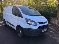 USED 2015 65 FORD TRANSIT CUSTOM 2.2 290 LR P/V 1d 99 BHP All Vehicles with minimum 6 months Warranty, Van Ninja Health Check and cannot be beaten on price!