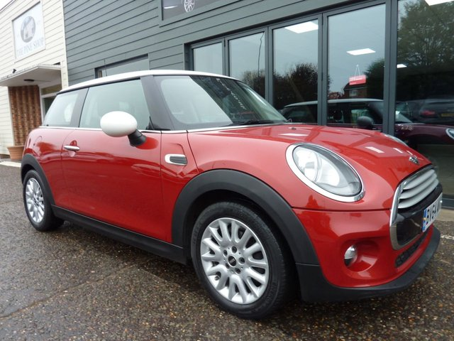 2014 64 MINI HATCH COOPER 1.5 COOPER D 3d 114 BHP