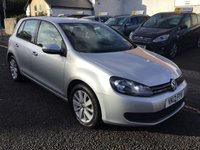 USED 2012 12 VOLKSWAGEN GOLF 1.6 MATCH TDI 5d 103 BHP OUR  PRICE INCLUDES A 6 MONTH AA WARRANTY DEALER CARE EXTENDED GUARANTEE, 1 YEARS MOT AND A OIL & FILTERS SERVICE. 6 MONTHS FREE BREAKDOWN COVER.   CALL US NOW FOR MORE INFORMATION OR TO BOOK A TEST DRIVE ON 01315387070 !!