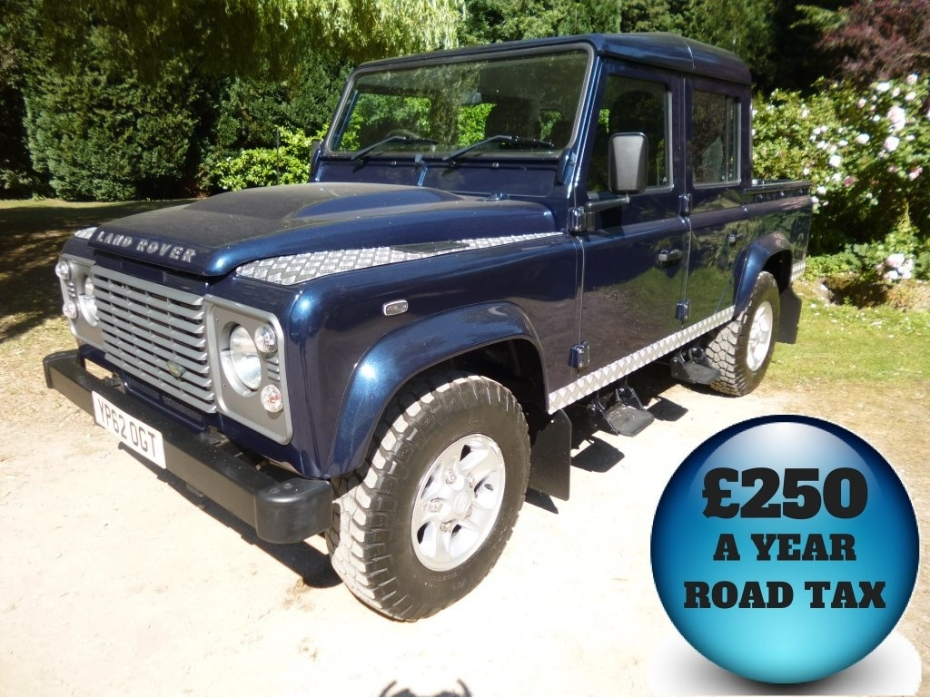 View our 2012 62 LAND ROVER DEFENDER  110 2.2 D DPF County Crewcab Pickup 4dr