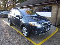 USED 2010 59 FORD KUGA 2.0 TITANIUM TDCI 2WD 5d 134 BHP # 6 SERVICE STAMPS # FULL LEATHER INTERIOR # GLASS ROOF # SAT-NAV # HEATED SEATS # PARKING CAMERA #