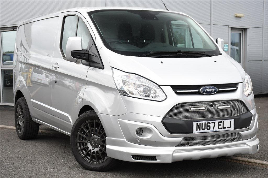 View our 2017 67 FORD TRANSIT CUSTOM  2.0 TDCi 130ps Low Roof Limited Van