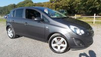 USED 2012 62 VAUXHALL CORSA 1.4 SXI AC 5d 98 BHP VEHICLE SPEC : 2 X KEYS, SERVICE HISTORY, AIR-CONDITIONING, ALLOY WHEELS, CD-PLAYER, ELECTRIC WINDOWS, REMOTE LOCKING, ELECTRIC MIRRORS, METALLIC PAINT,