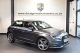 USED 2015 15 AUDI A1 1.4 SPORTBACK TFSI S LINE 5DR 123 BHP full service history 1 owner  + HALF BLACK LEATHER INTERIOR + FULL SERVICE HISTORY + 1 OWNER FROM NEW + SATELLITE NAVIGATION + BLUETOOTH + CRUISE CONTROL + HEATED MIRRORS + PARKING SENSORS + 18 INCH ALLOY WHEELS +