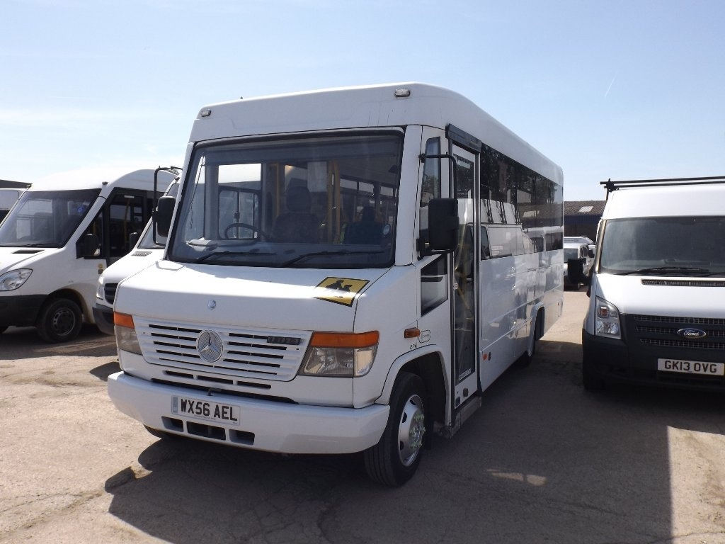 View our 2006 56 VOLVO B SERIES  814D LWB 25 SEATER DISABLE WELFARE BUS
