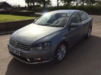 USED 2013 62 VOLKSWAGEN PASSAT 2.0 SPORT TDI BLUEMOTION TECHNOLOGY 4d 168 BHP