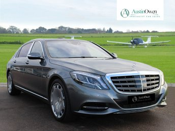 2016 MERCEDES-BENZ S CLASS 6.0 MAYBACH S600  AUTO 523 BHP £104990.00