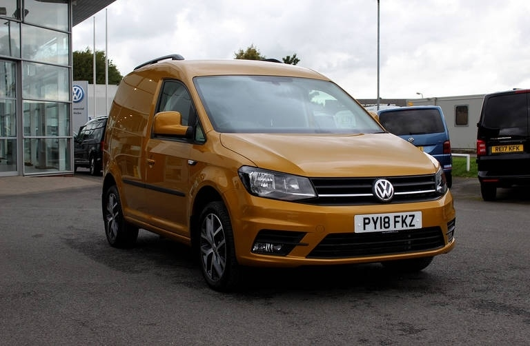 View our 2018 18 VOLKSWAGEN CADDY PANEL VAN HIGHLINE SWB