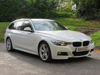 2014 BMW 3 SERIES 2.0 320D M SPORT TOURING 5d AUTO 181 BHP £12990.00