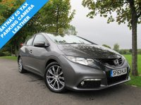 USED 2013 63 HONDA CIVIC 1.6 I-DTEC EX 5d 118 BHP