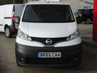 USED 2015 65 NISSAN NV200 1.5 DCI ACENTA 1d 90 BHP LOCATED AT OUR NEW VAN SITE, PLEASE CALL IN ADVANCE, WE HAVE ACCESS TO OVER 2500 VANS AT ANY ONE TIME, PLEASE CALL WITH YOUR REQUIREMENTS.