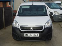 USED 2016 66 PEUGEOT PARTNER 1.6 BLUE HDI PROFESSIONAL L1 1d 100 BHP LOCATED AT OUR NEW VAN SITE, PLEASE CALL IN ADVANCE, WE HAVE ACCESS TO OVER 2500 VANS AT ANY ONE TIME, PLEASE CALL WITH YOUR REQUIREMENTS.