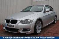 USED 2011 11 BMW 3 SERIES 2.0 320D M SPORT 2d 181 BHP FULL SERVICE HISTORY