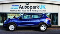 USED 2016 16 NISSAN QASHQAI 1.5 DCI VISIA 5d 108 BHP LOW DEPOSIT OR NO DEPOSIT FINANCE AVAILABLE