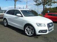 USED 2014 64 AUDI SQ5 3.0 SQ5 TDI QUATTRO 5d AUTO 309 BHP ONE OWNER, FULL SERVICE HISTORY, FULL LEATHER, PANORAMIC ROOF, REAR PARKING SENSORS, 4X4