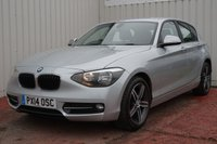 USED 2014 14 BMW 1 SERIES 2.0 116D SPORT 5d 114 BHP DEALER FULL SERVICE HISTORY