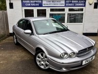 USED 2005 F JAGUAR X-TYPE 2.5 V6 SE 4d 195 BHP UNIQUE OPPORTUNITY JUST 13,755 MILES FSH 1OWNER STUNNING CONDITION