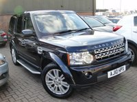 2010 LAND ROVER DISCOVERY 3.0 4 TDV6 HSE 5d AUTO 245 BHP £19980.00