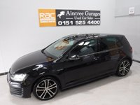 """USED 2014 14 VOLKSWAGEN GOLF 2.0 GTD 5d 181 BHP A FANTASTIC SPORTY CAR, ONE OWNER FULL SERVICE HISTORY, REFLECTIVE BLACK, 18"""" ALLOY WHEELS, PARKING SENSORS, ALL WINDOWS 1-TOUCH. LEATHER STEERING WHEEL + FLAT BOTTOM, START-STOP, CARBIN FIBER INSERTS, CRUISE CONTROL, COLLISION CONTROL, TRASTION CONTROL, VW MEDIA, DUAL CLIMATE CONTROL, ELEC HEATED FOLDING MIRROS, BLUETOOTH - PHONE, AC, AND MORE"""