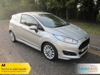 USED 2014 14 FORD FIESTA 1.6 SPORT TDCI 1d 94 BHP Fantastic One Owner Fiesta 1.6 Sport Van with Air Conditioning, Alloy Wheels and Ford Service History