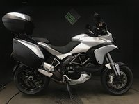 USED 2013 13 DUCATI MULTISTRADA 1200 S TOURING. 2013. FSH. SKYHOOK. 13925 MILES. JUST HAD BELTS