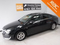 USED 2014 63 VAUXHALL INSIGNIA 2.0 DESIGN CDTI ECOFLEX S/S 5d 138 BHP GREAT FAMILY CAR WITH VERY HIGH SPEC ONE OWNER WITH FULL DEALER HISTORY, 5 STAMPS, CAM BELT JUST BEEN DONE, THIS CAR HAS BEEN VERY WELL LOOKED AFTER, COMES WITH CRUSE CONTROL LUXURY LEATHER SEATS, PARKING SENSORS, CLIMATE CONTROL, PRIVACY GLASS, 18INCH UPGRADED ALLOYS