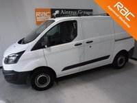 USED 2015 65 FORD TRANSIT CUSTOM 2.2 270 LR P/V 1d 99 BHP FULL FORD SERVICE HISTORY, IMMACULATE BODY WORK, ELEC WINDOWS, ARM REST, REMOTE CENTRAL LOCKING, CD PLAYER, BULK HEAD, CARGO LINING, PARKING SENSORS,  CRUISE CONTROL, WILL COME FULL SERVICED READY FOR WORK GREAT VAN for more Information Please Call Now on 0151525 4400,  07967141248. Family Run Business Since 1990