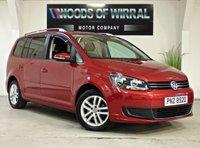 2011 VOLKSWAGEN TOURAN 1.6 SE TDI 5d 106 BHP £8980.00