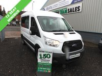 USED 2014 14 FORD TRANSIT 2.2 310 ECONETIC SHR 125 BHP 12 SEAT MINIBUS  12 SEAT MINI BUS WITH SERVICE HISTORY