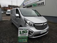2015 VAUXHALL VIVARO 1.6 2900 L2H1 CDTI P/V SPORTIVE 114 BHP NO VAT TO PAY ON THIS VAN  £10995.00
