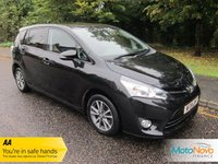 USED 2014 14 TOYOTA VERSO 1.6 D-4D ICON 5d 110 BHP Great Value Seven Seat Toyota Verso Diesel with Air Conditioning, Cruise Control, Alloy Wheels and Service History